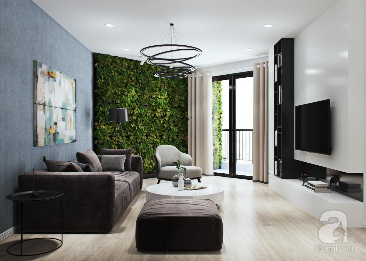 Tư vấn thiết kế và bố trí nội thất cho căn hộ 3 phòng ngủ với diện tích 121m² chưa đến 200 triệu