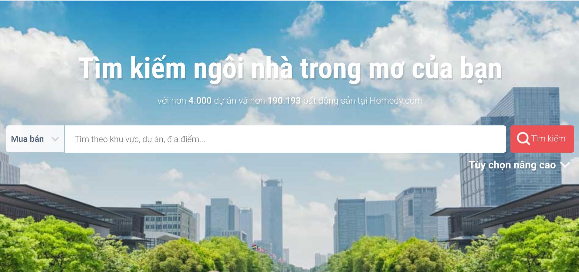 Chợ bất động sản trực tuyến giảm sức hút