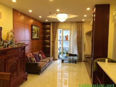 Cho thuê căn hộ CCCC Gold Season-47 Nguyễn Tuân, 111m, 3PN, full đồ, căn góc, 13.5tr/th. 0964088010