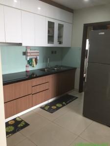 Cho thuê căn hộ Home City - 177 Trung Kính, 96m2, 3ngủ căn góc, đủ đồ chỉ 16tr - 0868309898