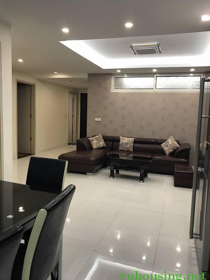 Cho thuê căn hộ CCCC Discovery-302 Cầu Giấy, 118m, 3PN, full nội thất, 22tr/tháng. Lh 0964088010