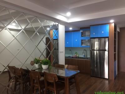 Cho thuê chung cư Handi Resco 31 Lê Văn Lương Dt 100m 3 ngủ đủ đồ vào luôn