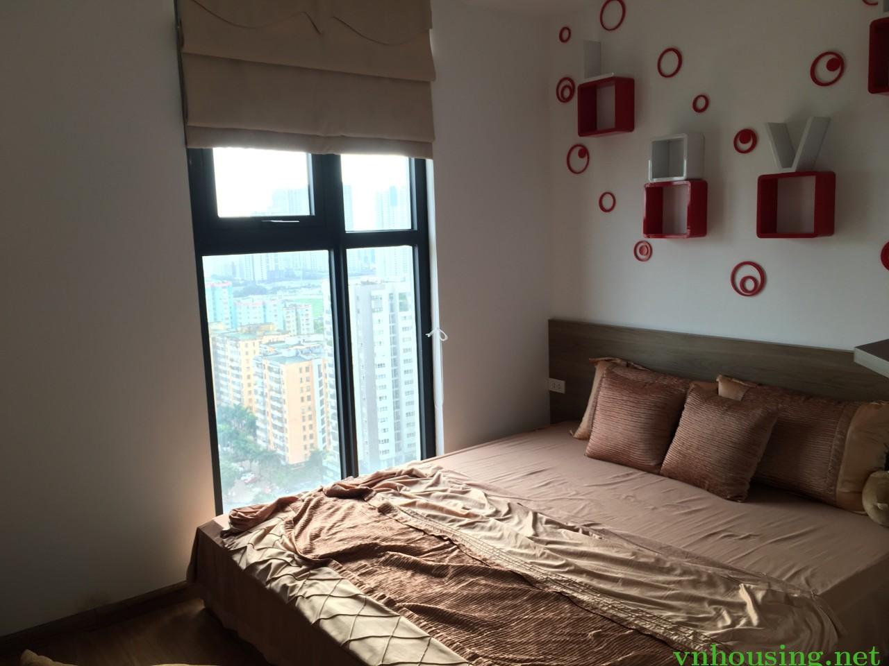 Cho thuê căn hộ HanoiCenterPOint 85 Lê V Lương, 70m2 đủ đồ đẹp