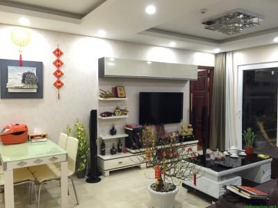 cho thuê căn hộ chung cư Golden Palace Mễ Trì, Dt 120m 3 ngủ đủ đồ giá 25tr