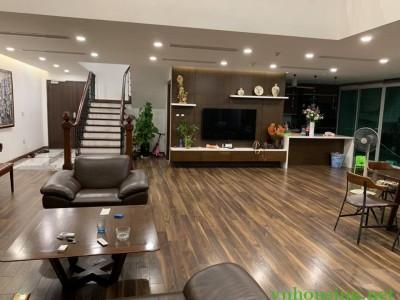 Cho thuê căn Duplex tòa Mandarin Hoàng Minh Giám, Cầu Giấy. 296m2, lh:0387847288