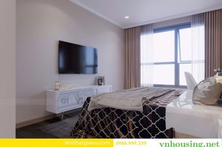 Cần cho thuê căn hộ Vinhomes Skylake Phạm Hùng 2 ngủ giá 18tr, Lh 082 99 067 62