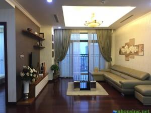 Cho thuê căn hộ chung cư tòa 17T6 đường hoàng đạo thúy 120m đủ đồ 12tr