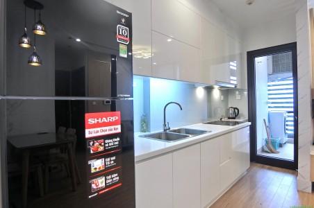 Cần cho thuê căn hộ Sky Lake Phạm Hùng, 50m2, 1PN, nội thất rất đẹp. 14tr/th Lh: 0988138345