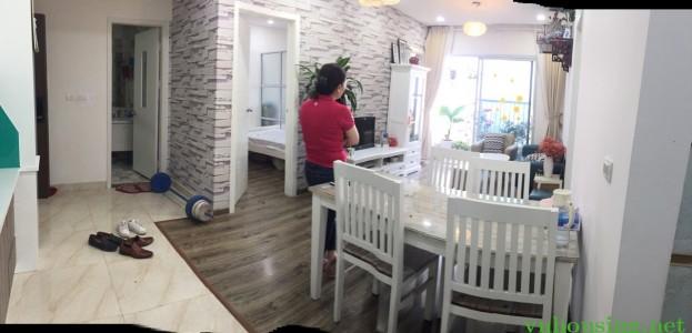 Cho thuê căn hộ CCCC Ecolife-58 Tố Hữu, 80m2, 2PN, full đồ, 13tr/tháng. Lh 0964088010